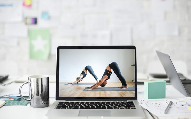 cours yoga en ligne e-learning